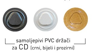 PVC gumbić za CD